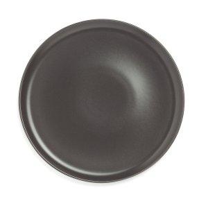 Комплект из 4 плоских тарелок LaRedoute. Цвет: серый