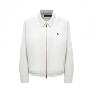 Джинсовая куртка Polo Ralph Lauren. Цвет: белый