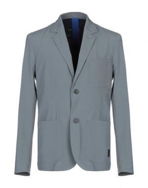 Пиджак GEOSPIRIT. Цвет: серый