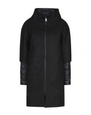 Пальто ADHOC. Цвет: черный