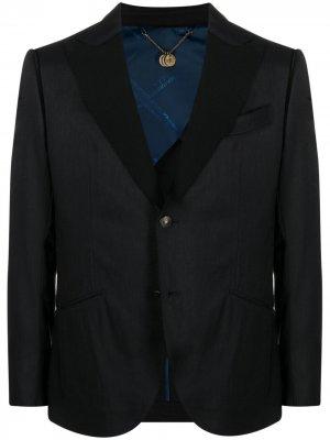 Пиджак строгого кроя Maurizio Miri. Цвет: черный