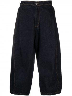 Широкие джинсы HENRIK VIBSKOV. Цвет: indigo