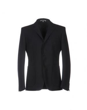 Пиджак CARVEN. Цвет: темно-синий