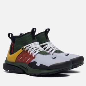 Мужские кроссовки Air Presto Mid Utility Boba Fett Nike. Цвет: оливковый