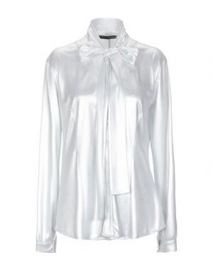 Pубашка ANNARITA N. Цвет: светло-серый