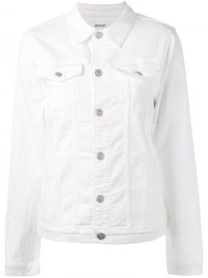 Джинсовая куртка Hudson. Цвет: белый