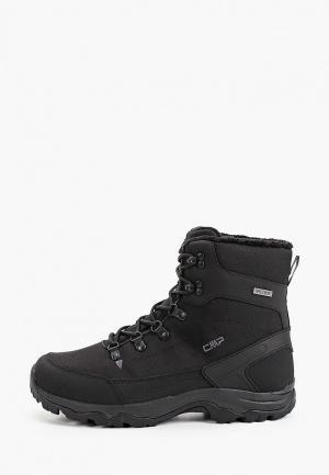Ботинки CMP RAILO WP. Цвет: черный