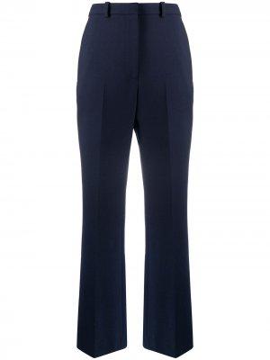 Широкие брюки строгого кроя Kenzo. Цвет: синий