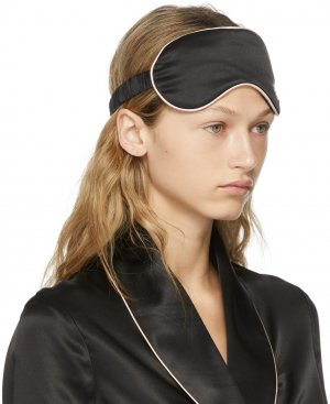 Black Silk Classic PJ Eye Mask Agent Provocateur. Цвет: black