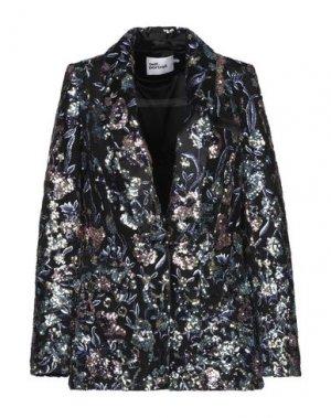 Пиджак SELF-PORTRAIT. Цвет: черный