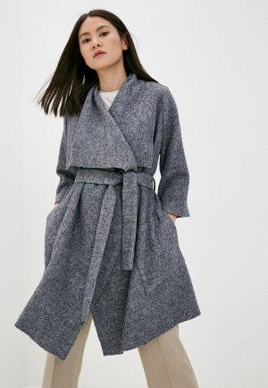Пальто Снежная Королева. Цвет: серый
