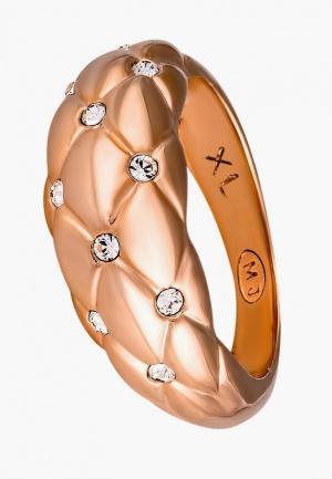 Кольцо Mademoiselle Jolie Paris Elle gold Crystal. Цвет: золотой