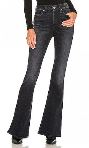 С клёшем holly Hudson Jeans. Цвет: черный