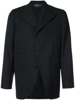 Костюмный пиджак свободного кроя Comme Des Garçons Homme Plus. Цвет: черный