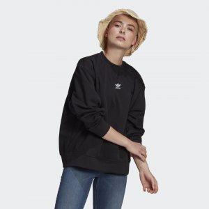 Свитшот Adicolor Essentials Originals adidas. Цвет: черный