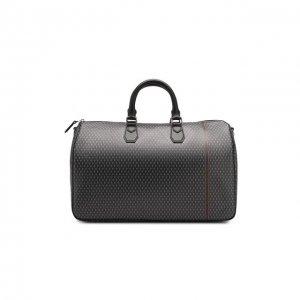 Дорожная сумка Dunhill. Цвет: серый