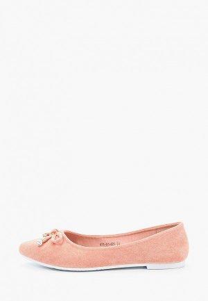 Балетки Dino Ricci Select. Цвет: розовый