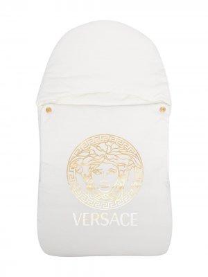 Скальный конверт с принтом Medusa Young Versace. Цвет: белый