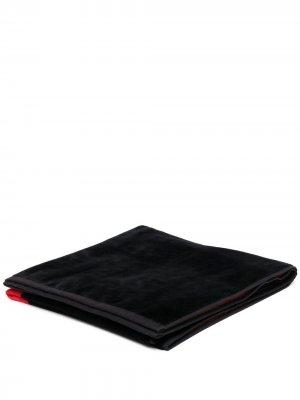 Пляжное полотенце с монограммой Ami de Coeur Paris. Цвет: черный