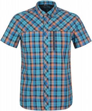 Рубашка с коротким рукавом мужская , размер 60 Outventure. Цвет: синий
