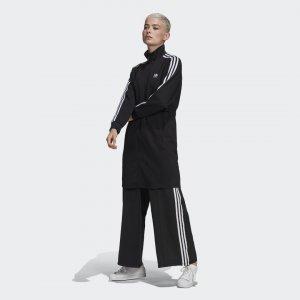 Удлиненная олимпийка Adicolor Classics Primeblue Originals adidas. Цвет: черный