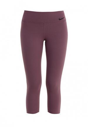 Капри Nike W NK PWR LGNDRY CPRI TI. Цвет: фиолетовый