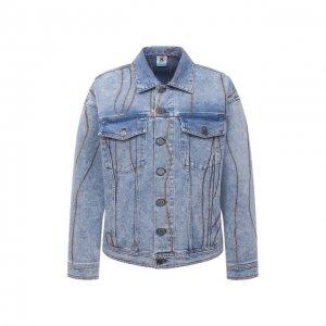 Джинсовая куртка M Missoni. Цвет: синий