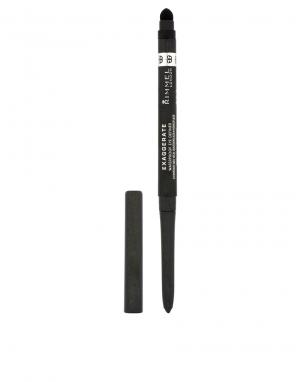 Карандаш для глаз Exaggerate Auto Eye Definers-Черный цвет Rimmel London