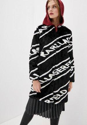 Шуба Karl Lagerfeld. Цвет: черный