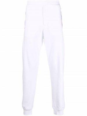 Logo-tape track pants Alexander McQueen. Цвет: белый