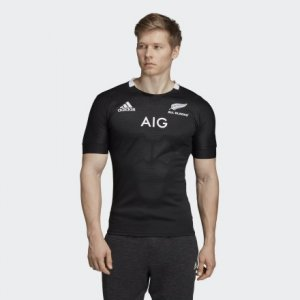 Домашняя футболка All Blacks Performance adidas. Цвет: черный