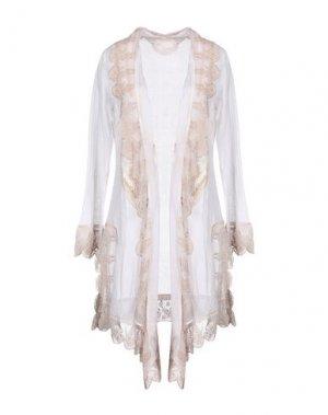 Легкое пальто GADO by MARGRIET WAGERAAR. Цвет: белый