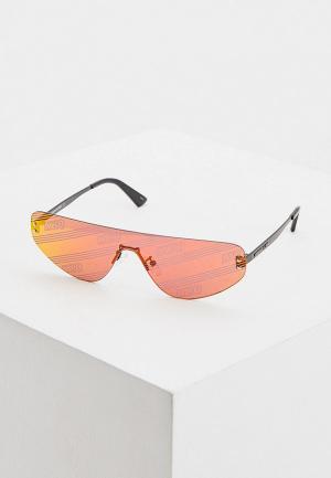 Очки солнцезащитные McQ Alexander McQueen MQ0221S 003. Цвет: красный
