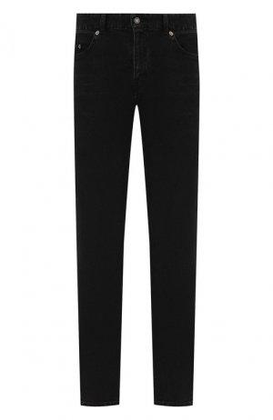 Джинсы Saint Laurent. Цвет: черный
