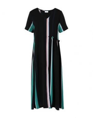 Платье длиной 3/4 2ND DAY. Цвет: черный
