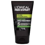 Pure Charcoal Purifying Daily Face Wash 100ml LOréal Paris Men Expert