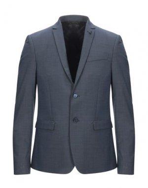 Пиджак PATRIZIA PEPE. Цвет: грифельно-синий
