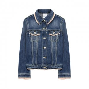 Джинсовая куртка Dondup. Цвет: синий