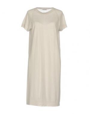Платье до колена ANNAPURNA. Цвет: светло-серый