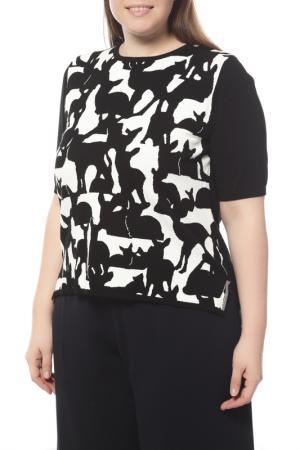 Пуловер MAXMARA. Цвет: черный, белый