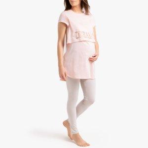 Пижама La Redoute. Цвет: розовый