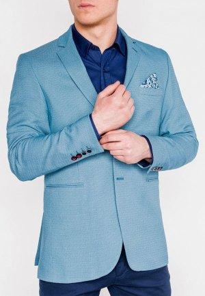 Пиджак Ombre. Цвет: голубой