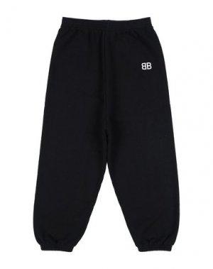 Повседневные брюки BALENCIAGA KIDS. Цвет: черный
