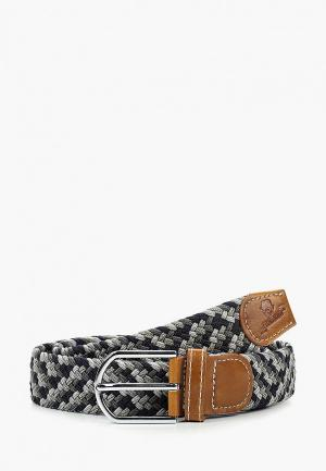 Ремень Churchill accessories. Цвет: серый