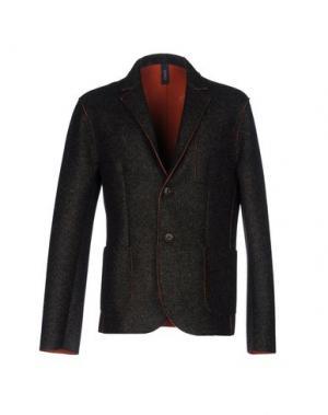 Пиджак ERO. Цвет: темно-коричневый