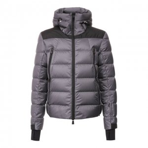 Пуховая куртка Camurac Moncler Grenoble. Цвет: серый