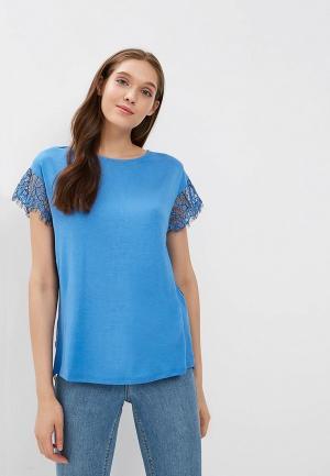 Блуза United Colors of Benetton. Цвет: синий