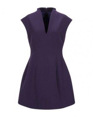 Короткое платье BLACK LABEL. Цвет: фиолетовый