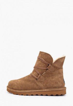 Ботинки Bearpaw Zora. Цвет: коричневый