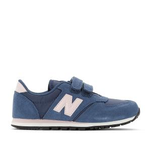 Кроссовки на планке-велкро KE420 NEW BALANCE. Цвет: темно-синий/розовый